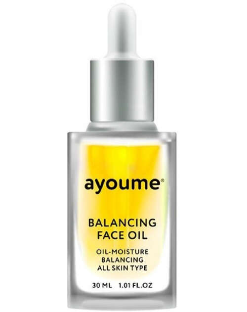 "AYOUME BALANCING FACE OIL WITH SUNFLOWER МАСЛО Д/ЛИЦА ""ПОДСОЛНУХ"", 30МЛ"