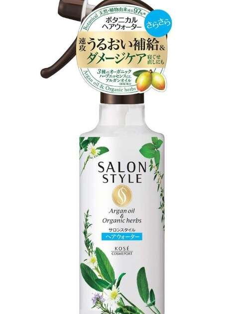 KOSE SALON STYLE BOTANICAL TREATMENT HAIR WATER (MOIST) МИСТ ДЛЯ ВОЛОС УВЛАЖНЕНИЕ, 250МЛ