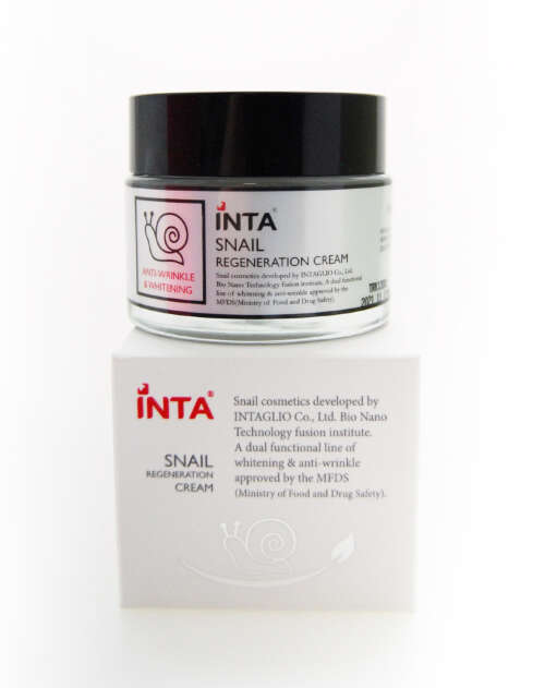 INTA SNAIL REGENERATION CREAM КРЕМ ДЛЯ ЛИЦА, 50Г