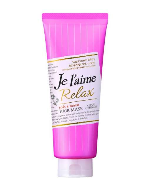 JE L`AIME RELAX DEEP TREATMENT HAIR MASK (SOFT & MOIST) МАСКА ДЛЯ ЖЕСТКИХ ВОЛОС, 230ГР