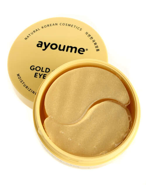"AYOUME EYE PATCH GOLD+SNAIL ПАТЧИ Д/КОЖИ ВОКРУГ ГЛАЗ ""ЗОЛОТО+УЛИТКА"", 60ШТ"