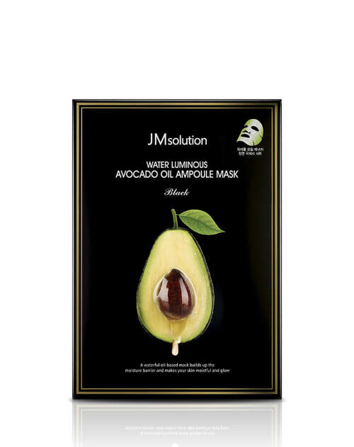 JMSOLUTION МАСКА-САЛФЕТКА WATER LUMINOUS AVOCADO OIL AMPOULE MASK