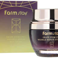 FARMSTAY GRAPE STEM CELL WRINKLE REPAIR EYE CREAM КРЕМ ДЛЯ ВЕК ОТ МОРЩИН, 50 МЛ 1/100