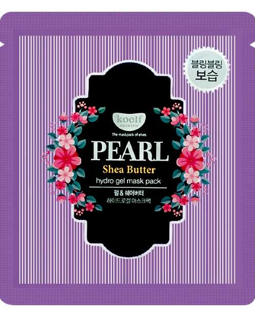 "KOELF МАСКА ДЛЯ ЛИЦА ГИДРОГЕЛЕВАЯ ""ЖЕМЧУГ И МАСЛО ШИ"" / PEARL & SHEA BYTTER HYDROGEL MASK PACK"